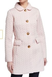 Kate Spade single breast quilted coat